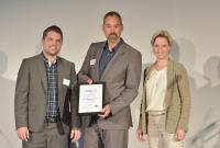 EVO mit dem Gründerpreis 2017 ausgezeichnet